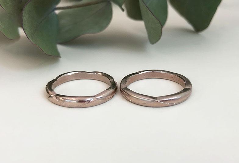 浜松市結婚指輪オーダーメイド梅