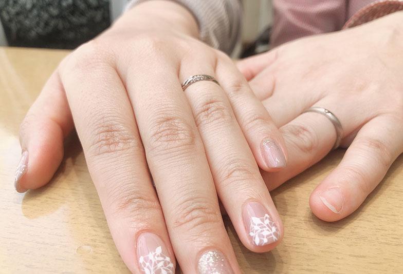 【浜松市】「梅の花」にこだわり結婚指輪をオーダーメイドで作りました