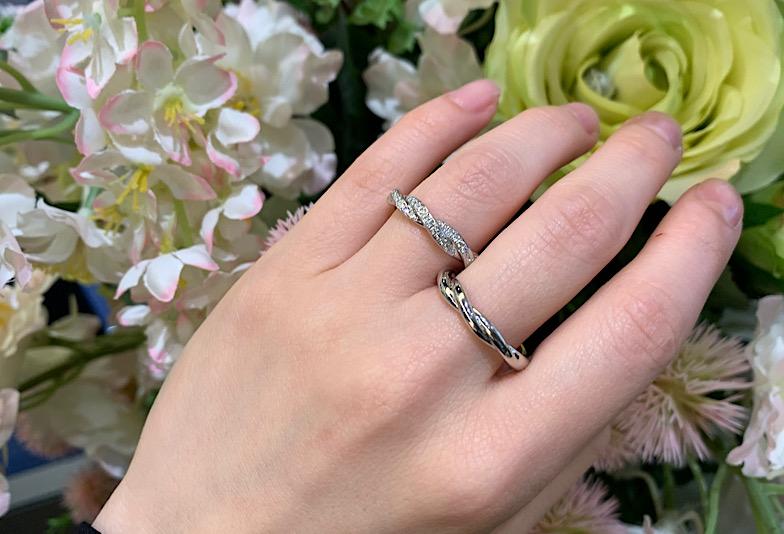 富山市で人気の結婚指輪ラザールダイヤモンド