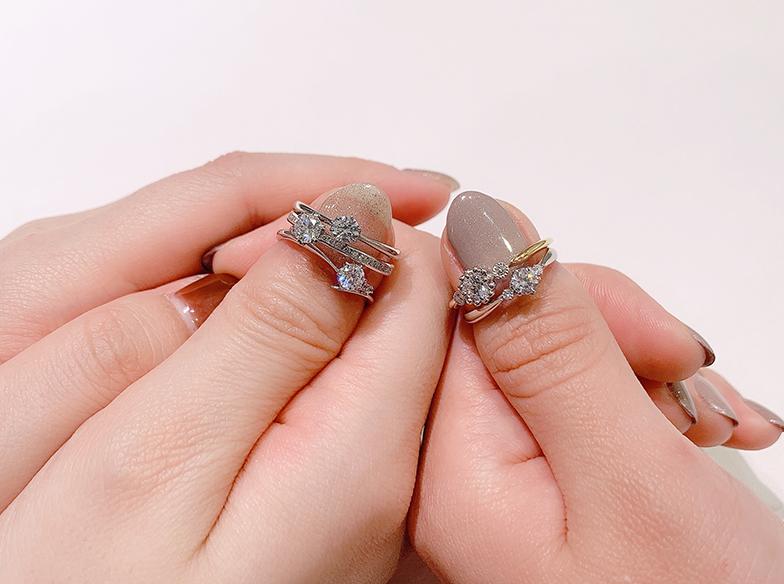 浜松 婚約指輪各種