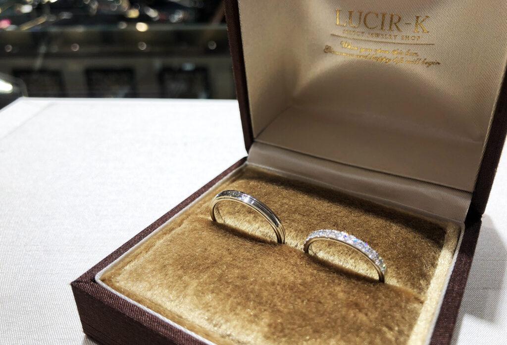 【静岡市】理想の結婚指輪はブランド選びから「ハーフエタニティ編」