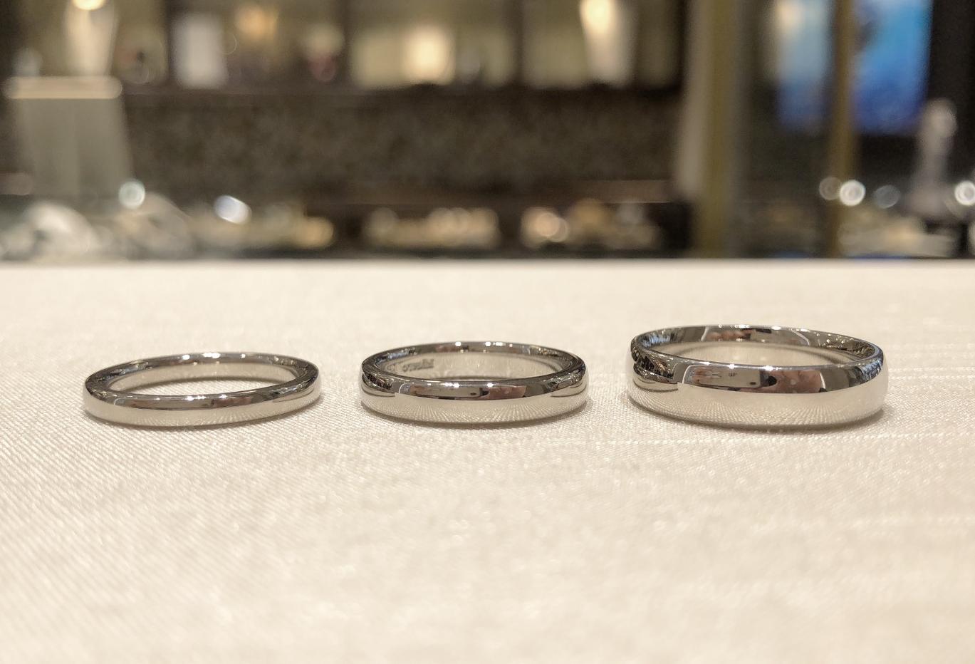 結婚指輪 幅