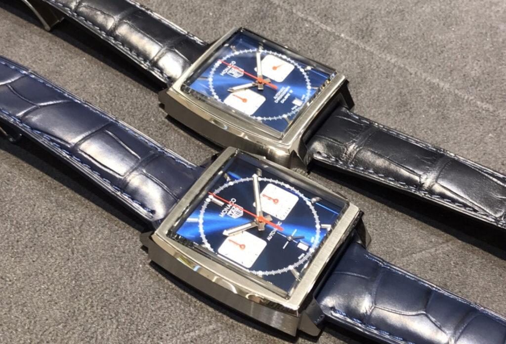 【静岡時計】タグホイヤーモナコの新旧徹底比較 CAW2111.FC6183 VS CBL2111.FC6453