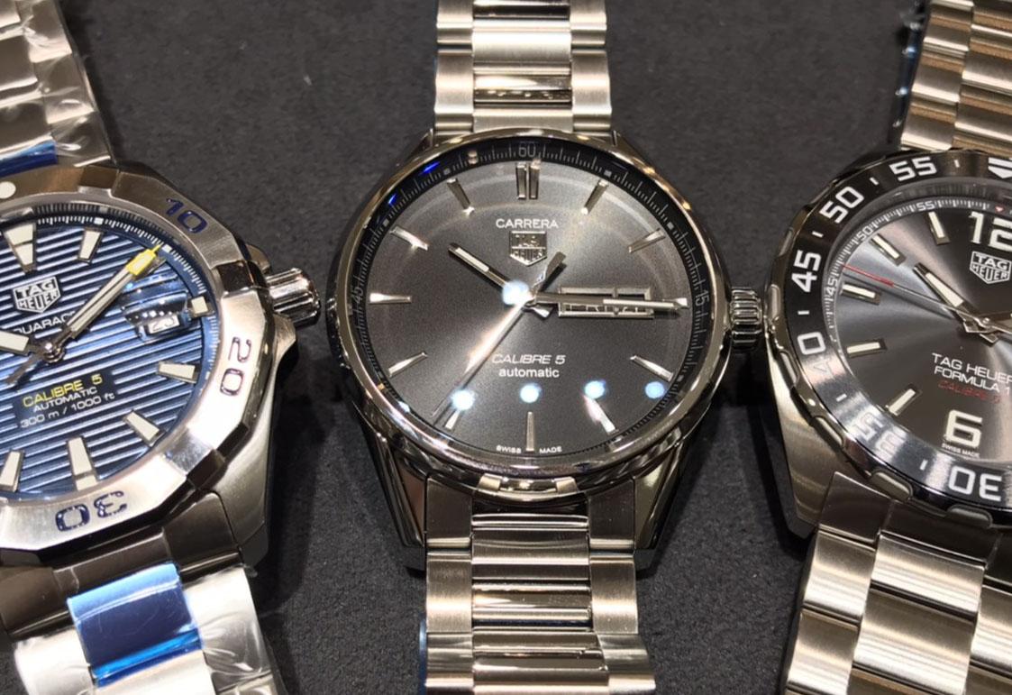【静岡時計】人気タグホイヤー 高級時計を始めて購入する時のベスト3をご紹介「3針機械式編」