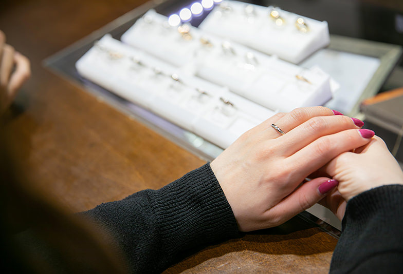 静岡市結婚指輪選び方
