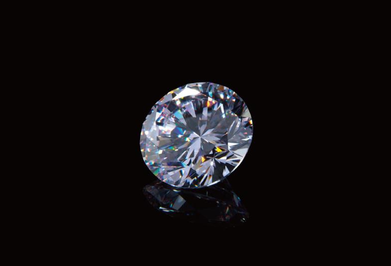 ダイヤモンド 黒背景