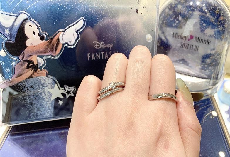 【京都市】一生ものだからこそ大好きな「ディズニーコレクション・ミッキー」の結婚指輪・婚約指輪を選びませんか?