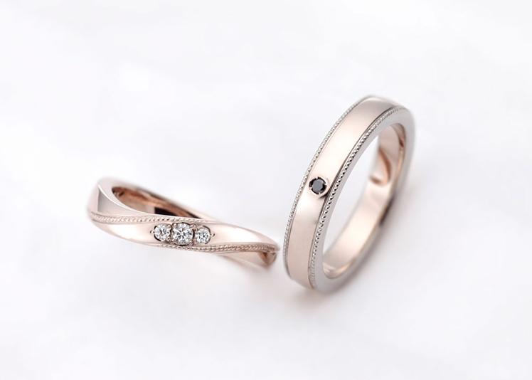 浜松市結婚指輪ミルグレイン