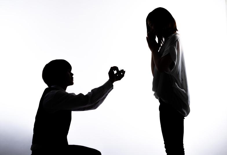 【静岡市】こんなプロポーズは危険!彼女が悲しむ絶対にやってはいけないプロポーズとは
