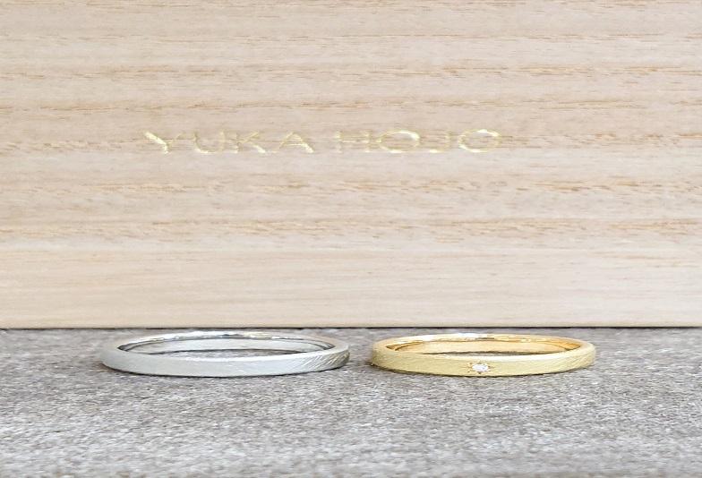 【京都市】手作り感&アンティーク調デザインの人気婚約指輪・結婚指輪ブランド『YUKA HOJO』のご紹介!