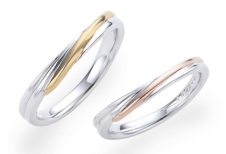 【福岡県久留米市】人と被りたくない方必見!素材を組み合わせた結婚指輪