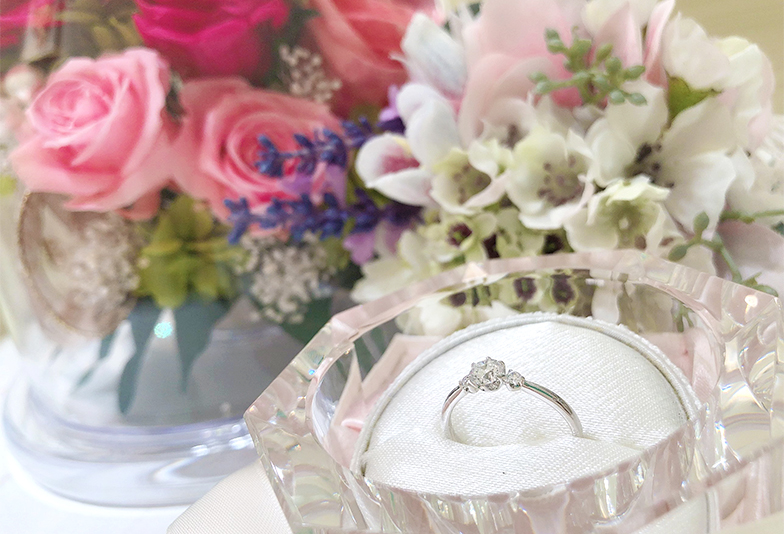 【神奈川県横浜市】貰った婚約指輪は着けにくい?その悩み、ジュエリーリフォームで解決!