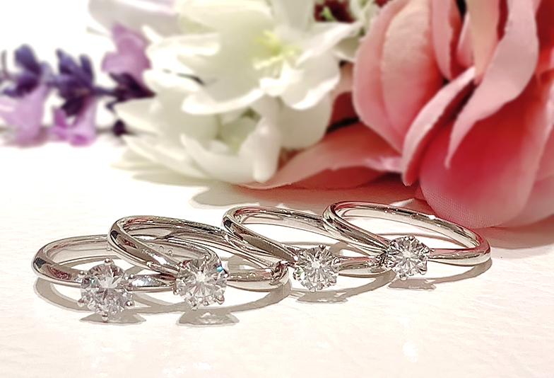 【静岡市】婚約指輪はダイヤモンドの大きさで印象が変わる?
