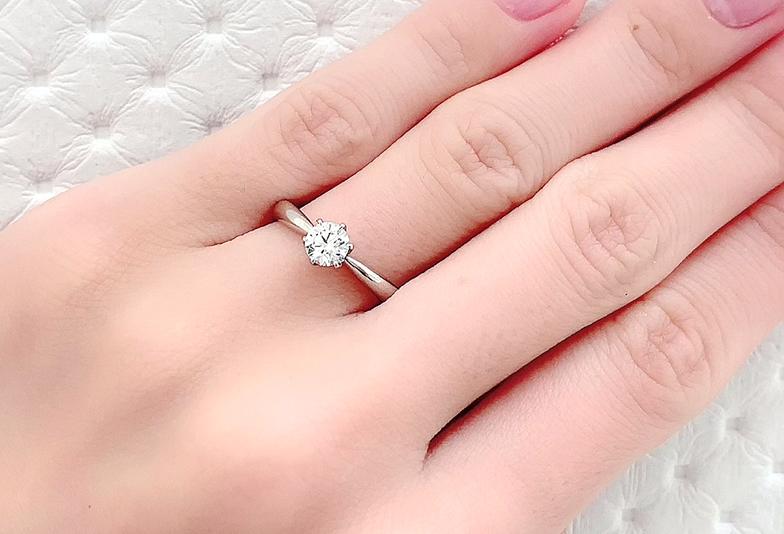 静岡市婚約指輪ダイヤモンド