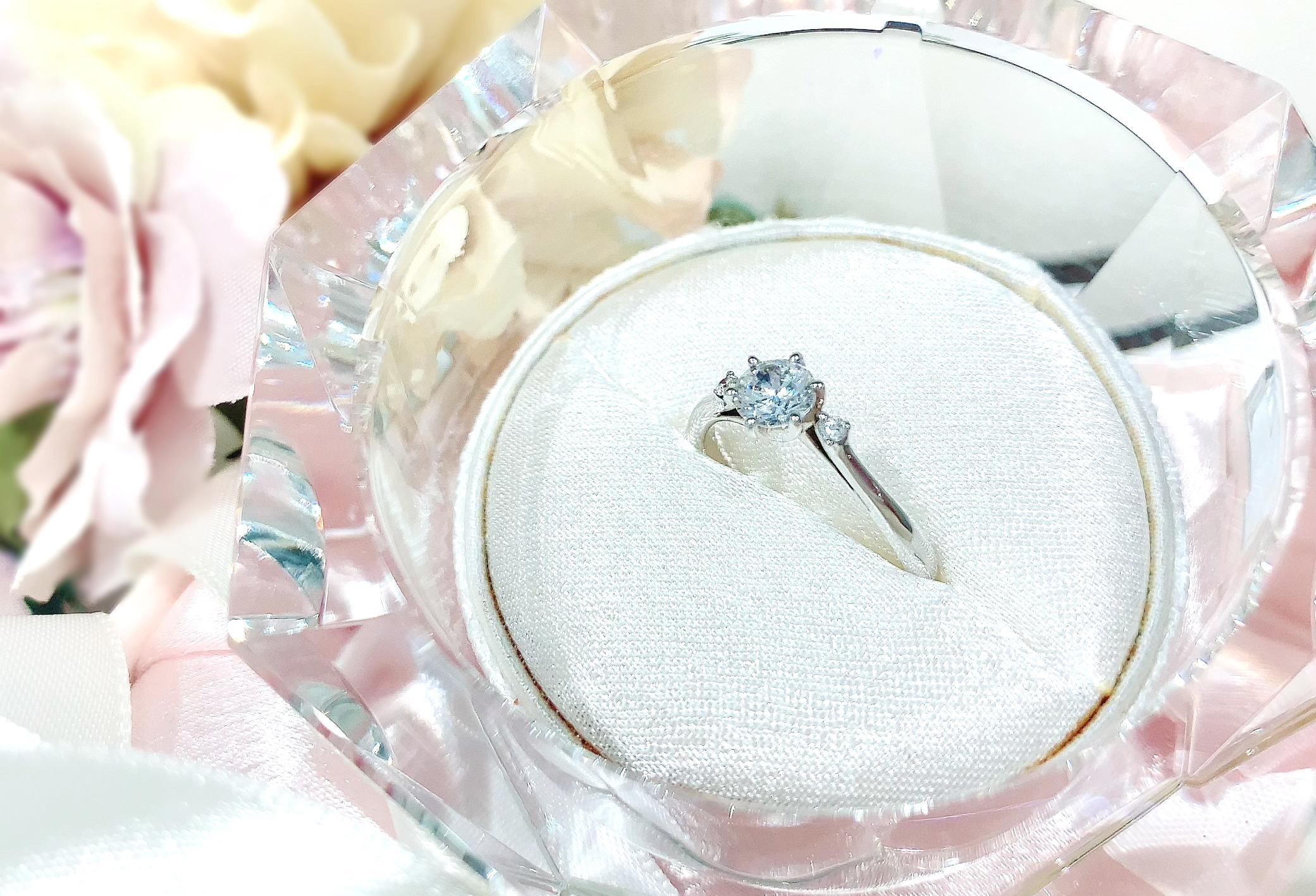 静岡市婚約指輪