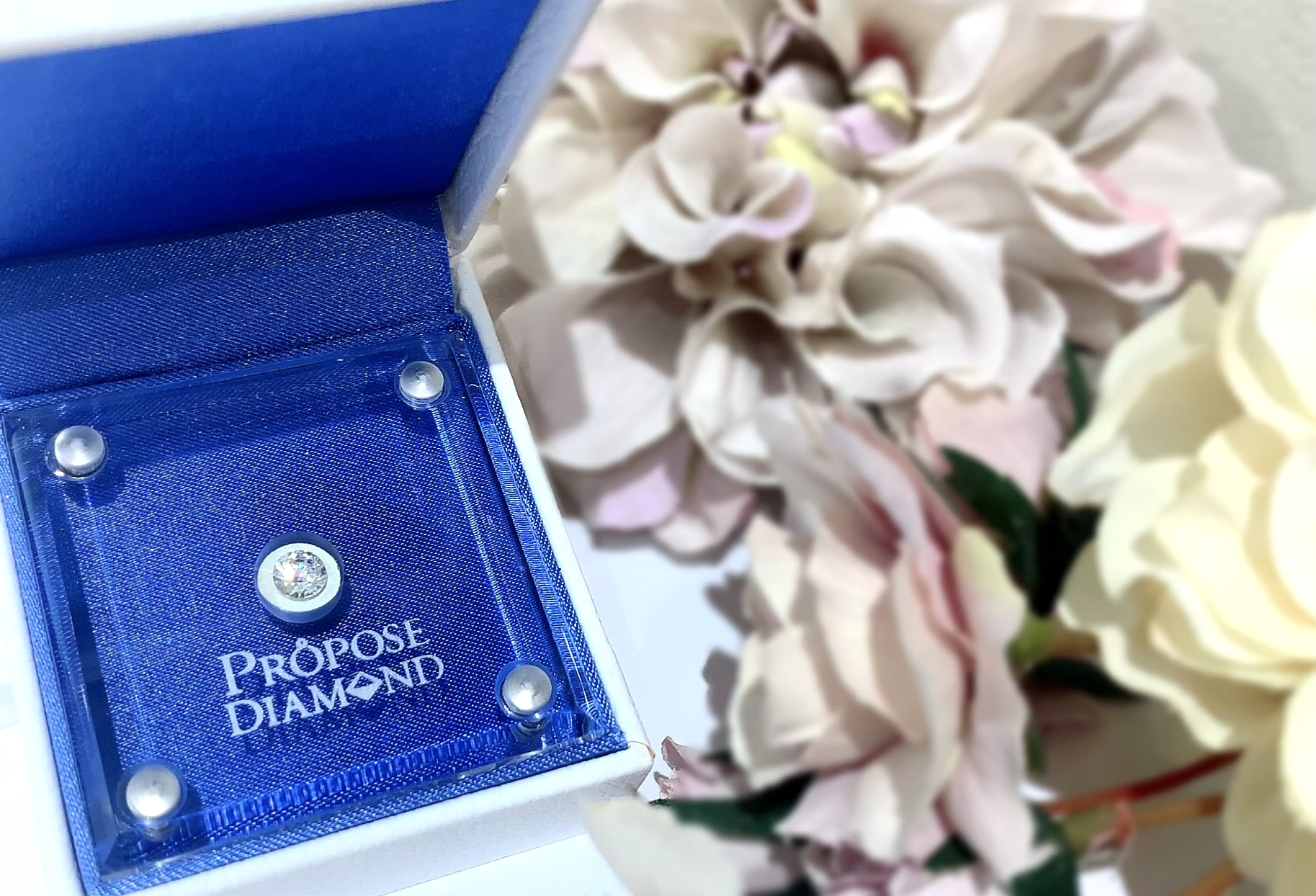 静岡市プロポーズダイヤモンド