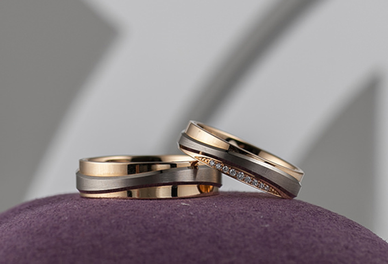 静岡市結婚指輪コンビネーション