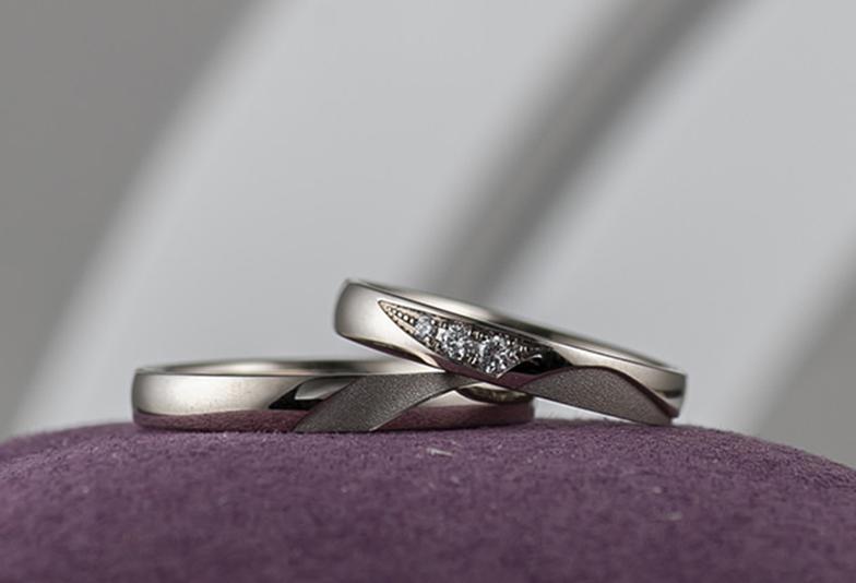 静岡市結婚指輪重ねる