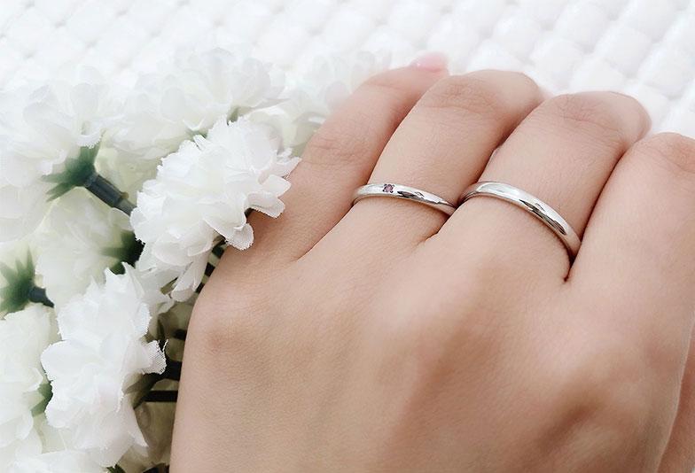 ミルクアンドストロベリー 結婚指輪