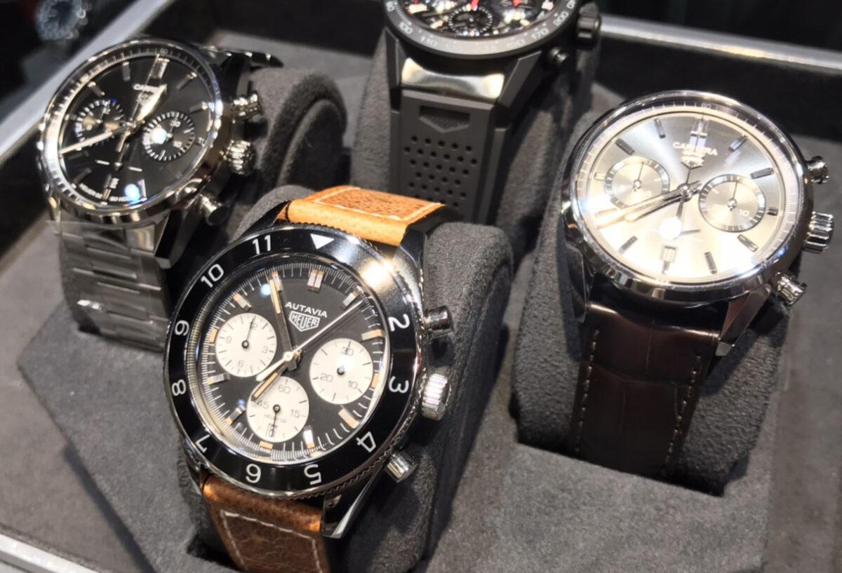 【静岡時計】 ストラップで選ぶワンランク上の高級時計タグホイヤー