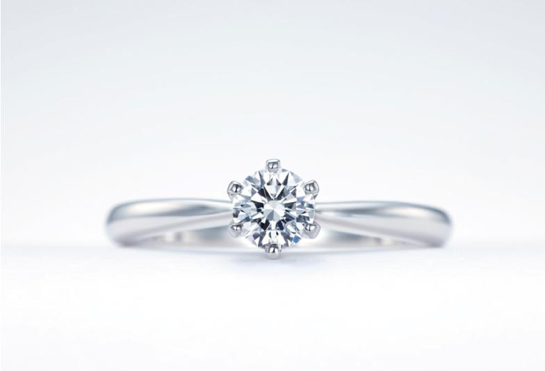 プラチナ シンプル 婚約指輪