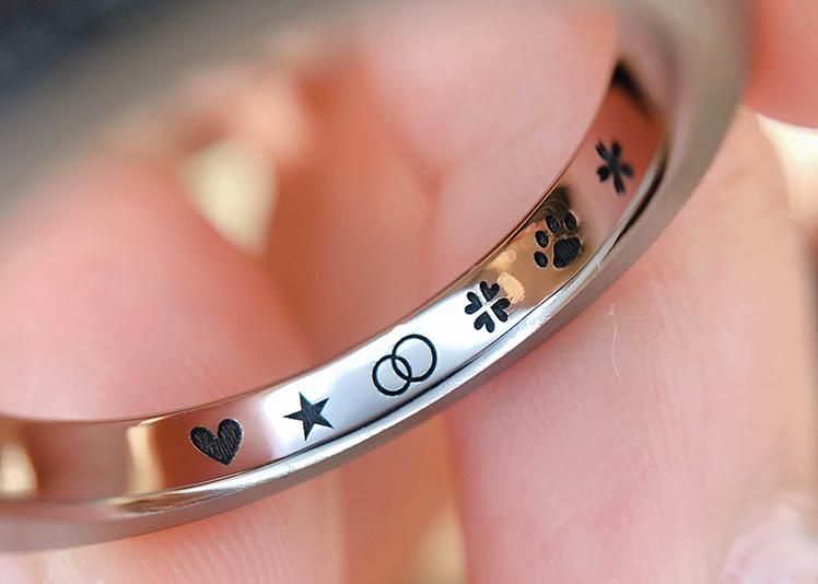 【静岡市】結婚指輪の刻印まとめ!定番から今風な文字をご紹介