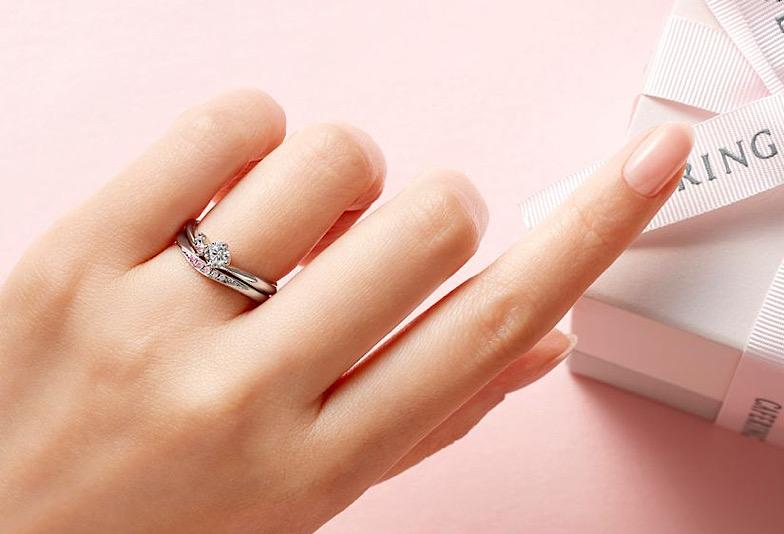 【飯田市】婚約指輪と結婚指輪の重ね付け〜選び方と注意点を解説します〜