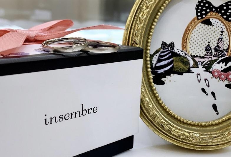 【京都市・四条】10万円で揃う丈夫で着け心地のいい安心の鍛造結婚指輪ブランド「インセンブレ」をご紹介