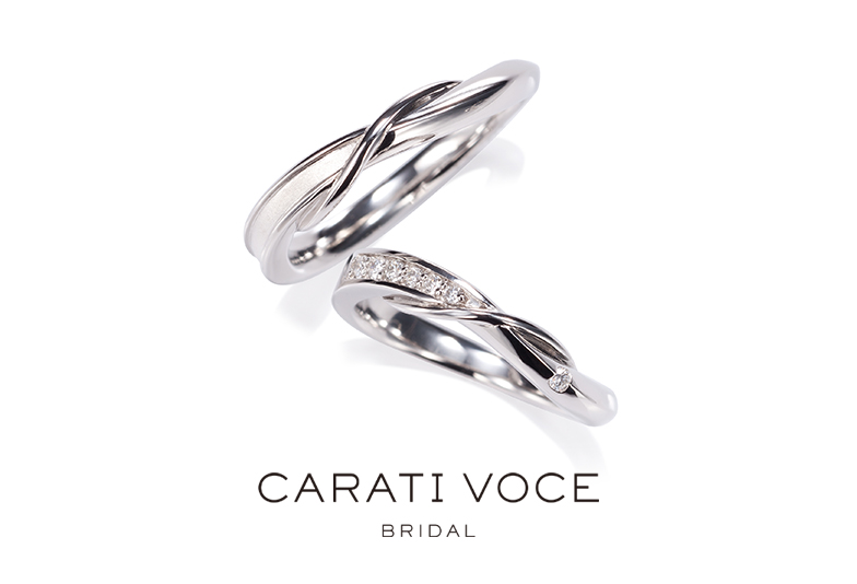 金沢市キャラティーヴォーチェ、金沢市オシャレな結婚指輪、