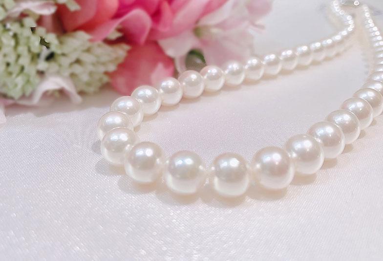 【静岡市】真珠ネックレスを買うなら無調色真珠がおすすめ!その訳とは