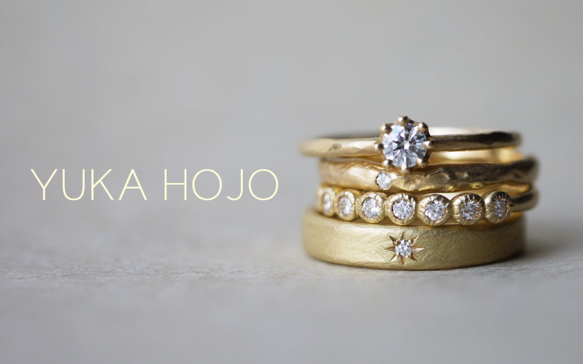 【会津若松市】さりげない華やかさ・ゴールドの婚約指輪【YUKA HOJO】