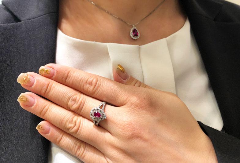 【静岡市】ルビーサファイア実は同じ宝石って本当?