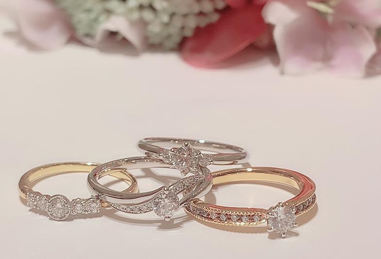 【静岡市】婚約指輪を選ぶならプラチナとゴールドどちらがおすすめ?