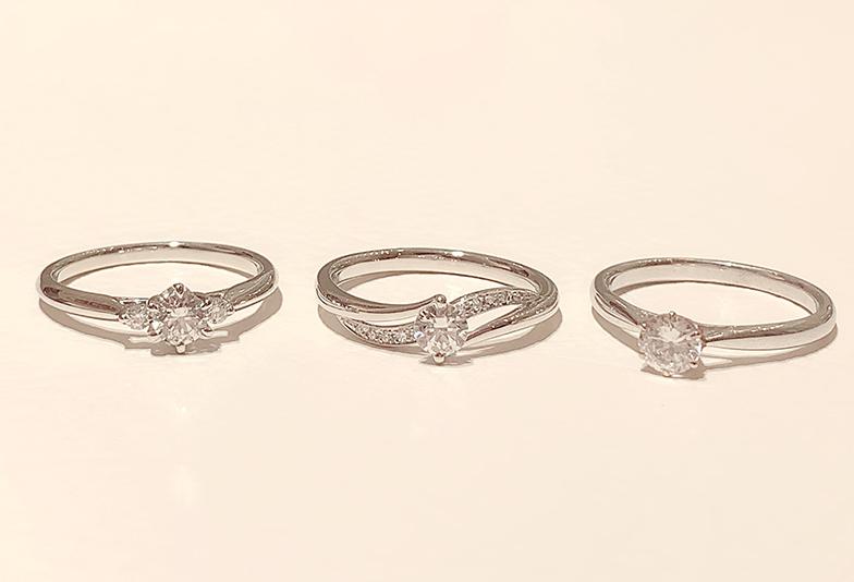 静岡市婚約指輪プラチナ