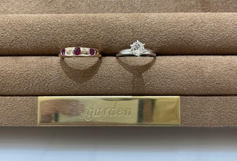 京都|ジュエリーリフォーム(ジュエリーリメイク)で婚約指輪