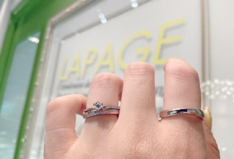 【大阪・心斎橋】おしゃれ女子に人気!LAPAGE(ラパージュ)の婚約指輪・結婚指輪