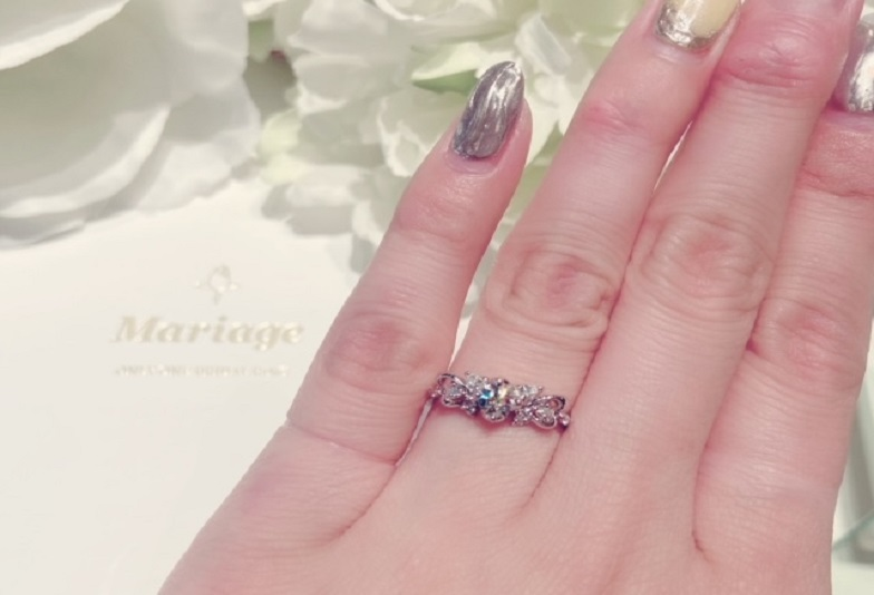 """【大阪・心斎橋】高品質ダイヤモンドを使用した""""Mariage ent""""の結婚指輪・婚約指輪"""