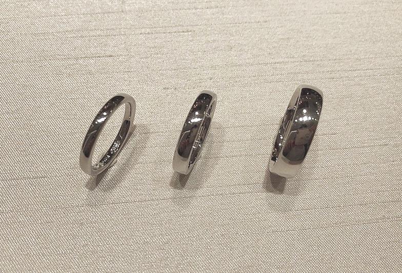 結婚指輪 リング幅