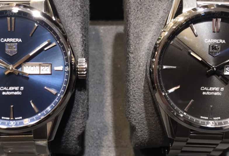 【静岡時計】高級時計の「黒フェイス」VS「青フェイス」好感度が高いのはどっち?