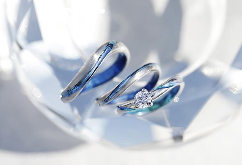静岡市婚約指輪SORA