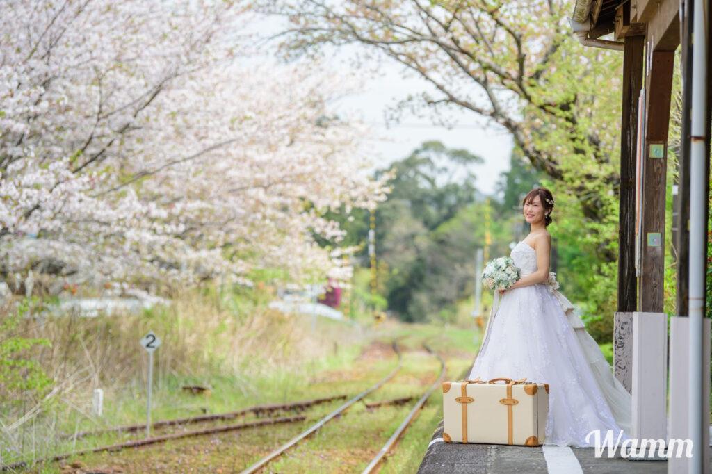 【静岡・浜松前撮り】女性だけのフォトウェディングプランなら年令問わず誰でもひとりからドレス姿で撮影できます