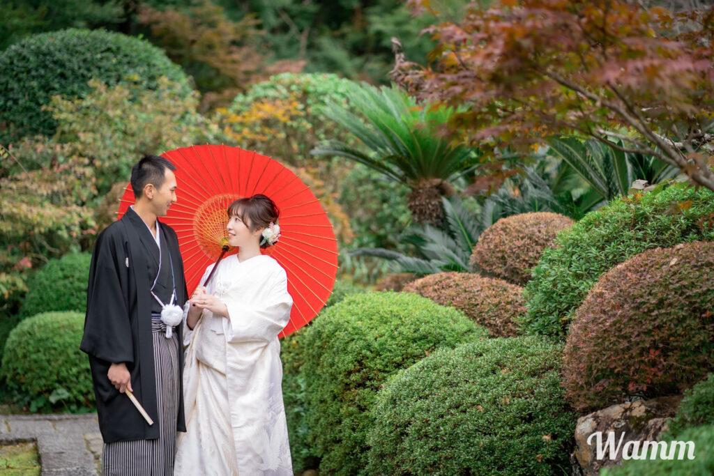 【静岡浜松前撮り】秋の和装前撮りは奥浜名湖・龍潭寺で決まり!?その他の気になるロケーションは?