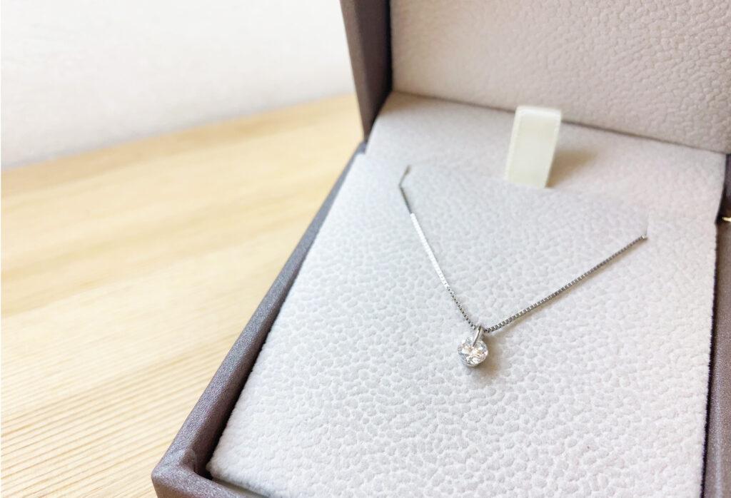 【静岡市】婚約指輪をネックレスに!私のリフォーム体験談