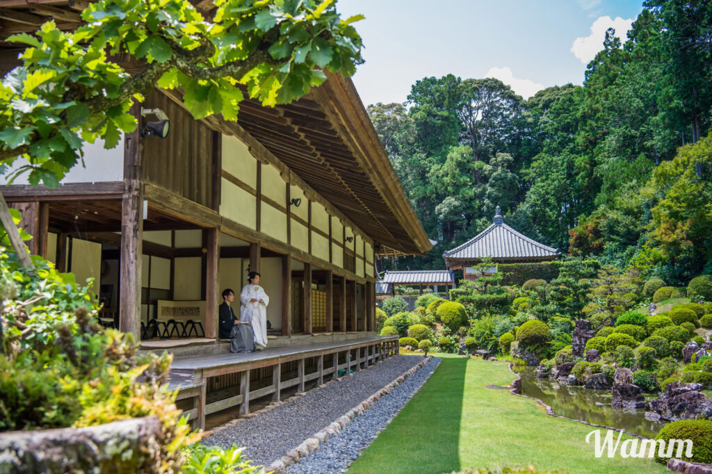 【静岡・浜松前撮り】龍潭寺の撮影なら最も近くて便利なワム細江スタジオをおすすめ!