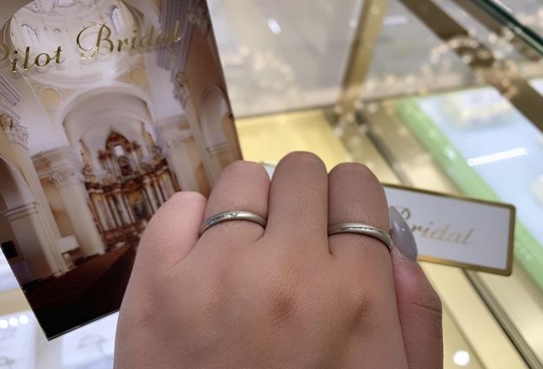 【京都府・四条烏丸】シンプルな結婚指輪だけど丈夫さとデザインにこだわれる人気なセレクトショップでオーダーしました
