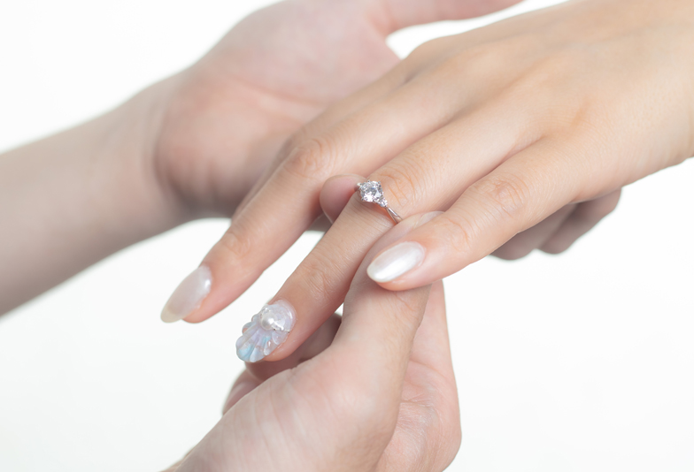 【静岡市】プロポーズで0.5ctの婚約指輪をどうしても贈りたかった僕の本音