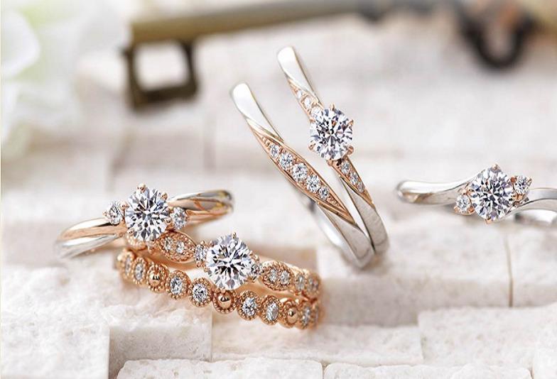 【大阪・梅田】2色使いが可愛い婚約指輪・結婚指輪ブランド【AMOUR AMULET】のご紹介