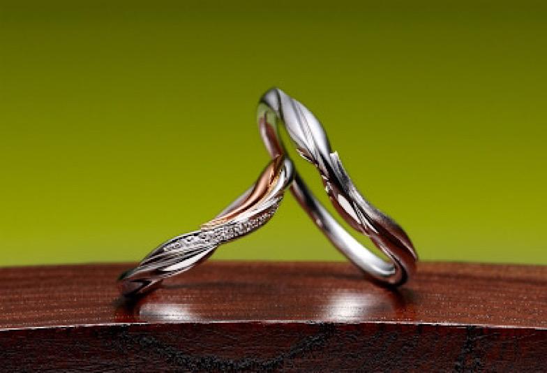 【いわき市】人気!京都の情緒薫る婚約指輪・結婚指輪「萬時マンジ」