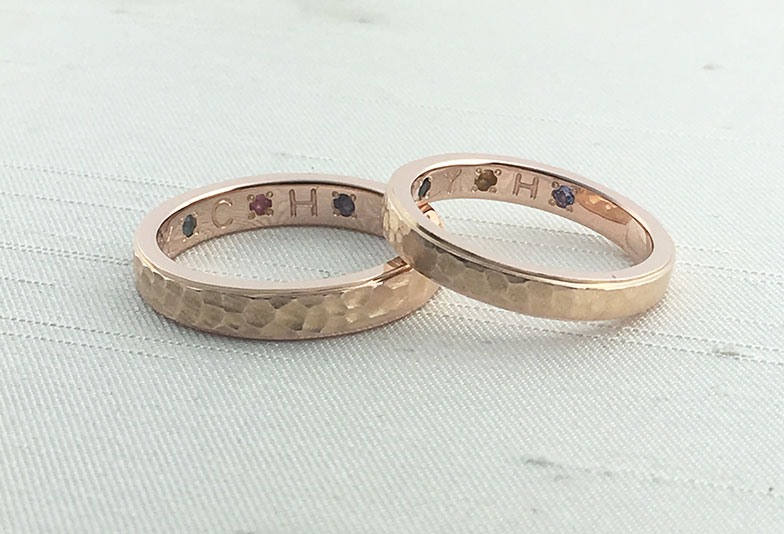 浜松市結婚指輪誕生石子供
