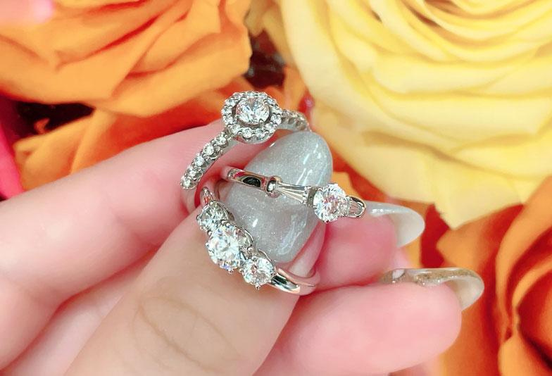 【静岡市】婚約指輪をもう一度着けてみませんか?ジュエリーリフォームでデザイン一新!